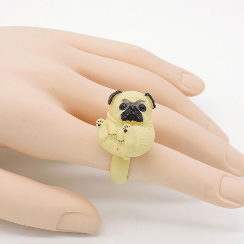 KARASU Designer Handmade Pug Dog Adorable 3D Stereoscopic Animal ...