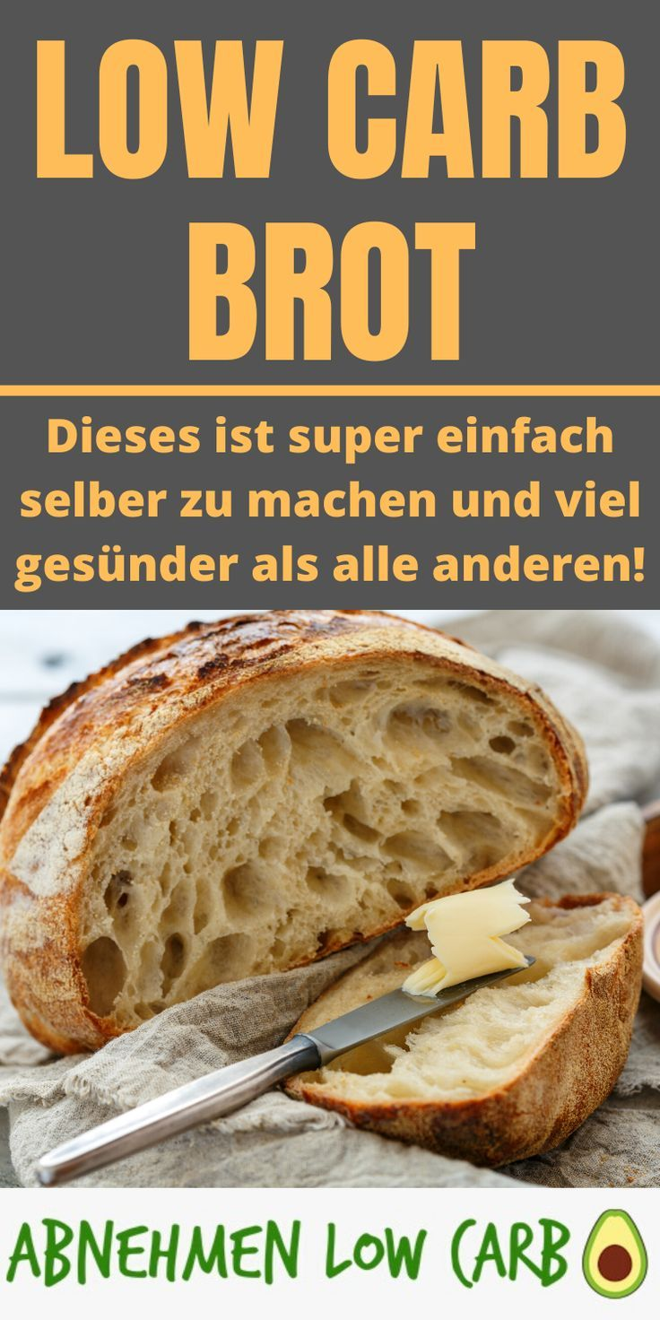 Low Carb Brot - zum Frühstück - Abnehmen Low Carb