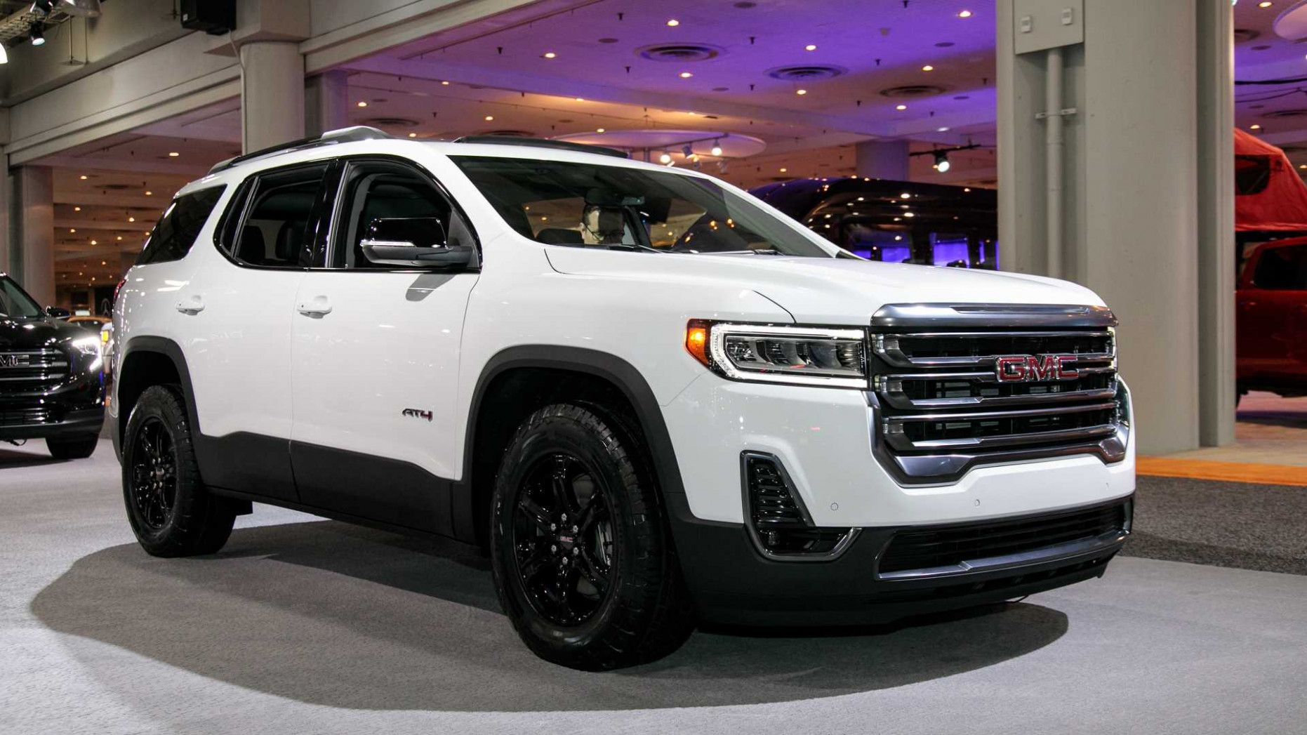 4 Gmc Acadia At4 Reportedly Starts At 4 4 2020 Gmc Acadia Sle 1