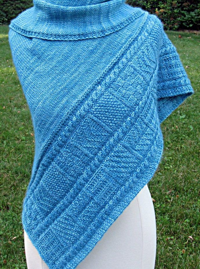 Knitting Pattern for Ganz Shawl (With images) | Ladies ...