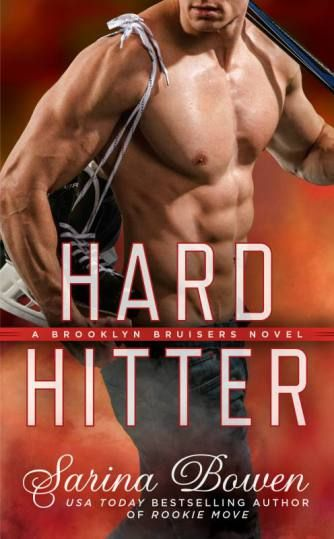 COVER: HARD HITTER: A Brooklyn Bruisers Novel by Sarina Bowen | Kindle Friends Forever Blog Post ~ http://wp.me/p4fcdZ-4m6