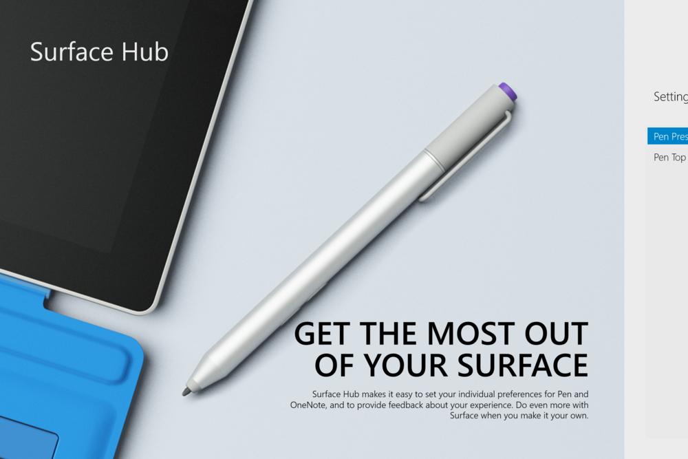 Surface Pro Artist Surface Pro Surface Hub Surface Laptop