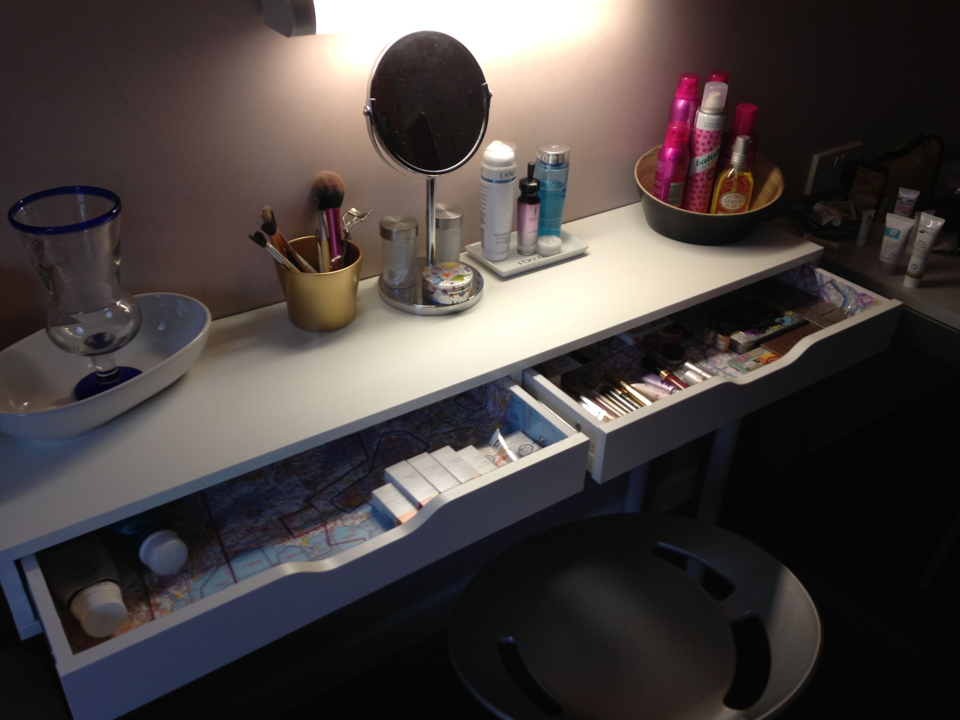 Coiffeuse ika stunning hemnes dressing table googlesuche with coiffeuse ika - Coiffeuse ikea occasion ...