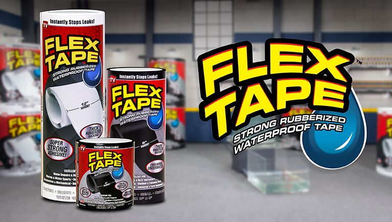 Everything You Need To Know About Flex Tape And Why It Works Seal Leaks Fun Diys Flex