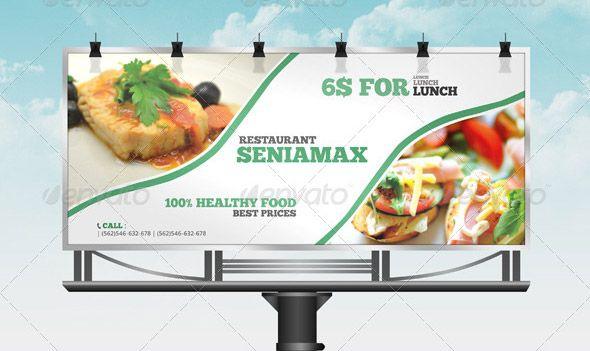 Restaurant-BillBoard.jpg | TEE_buillboards | Pinterest | Digital ...