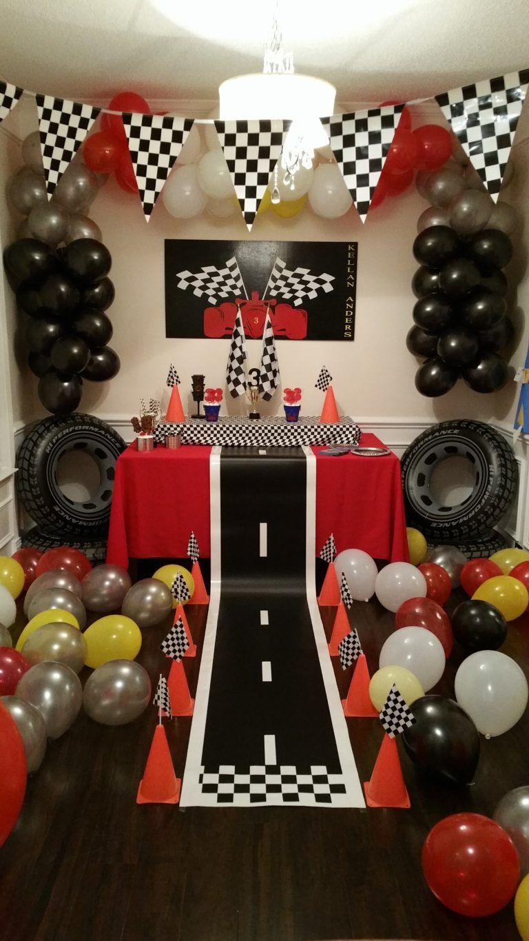 Racing Themed Birthday – Project Nursery