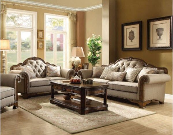 Best Acme Furniture Valleta 3 Piece Living Room Set 56170 400 x 300
