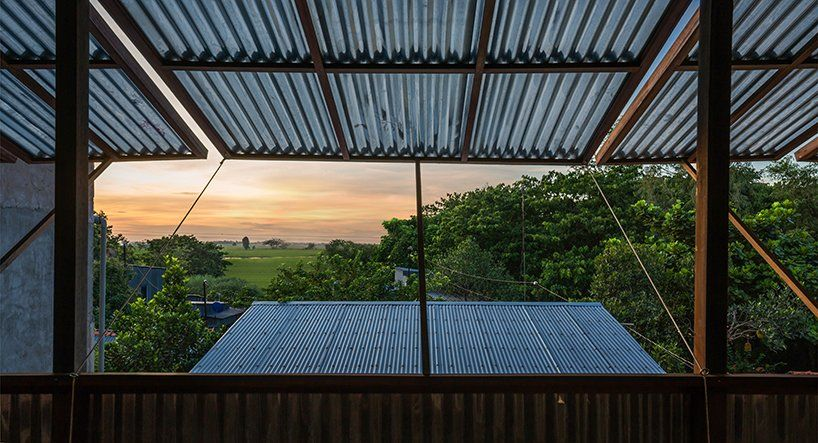 Nishizawaarchitects Builds House Using Corrugated Metal Panels In 2020 Multi Family Homes Architect Building A House