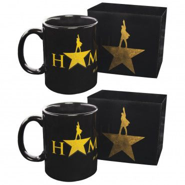 a4064b0f 2pk 10oz Hamilton Logo Mugs – Official Broadway Merchandise | New In ...
