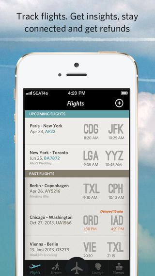 The Flying App - Free Air Travel App for all your Flights ...