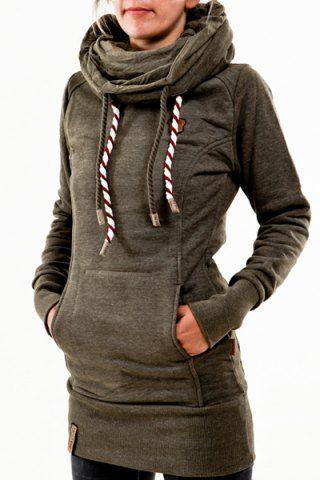 Chic Hooded Long Sleeve Star Hoodie For Women Sweatshirts   Hoodies ... 899b14935b