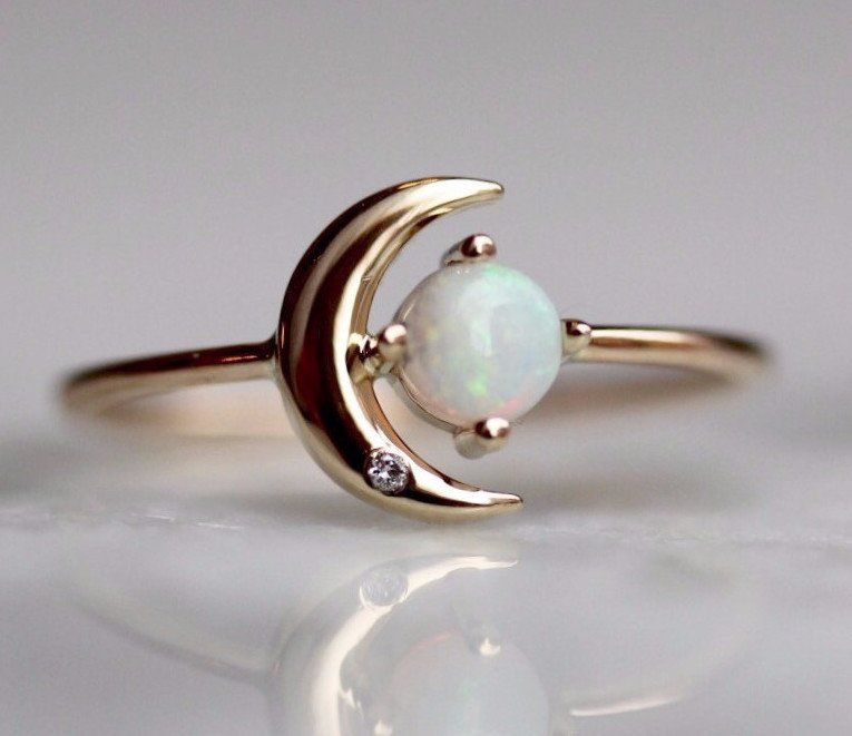 Photo of Moon of My Life Ring (Opal)