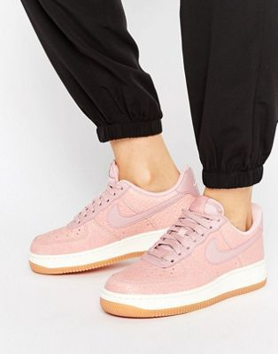 Nike | Nike Air Force 1 Upstep Premium Trainers In Pink