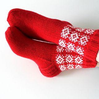 Lämpimät joulusukat :)