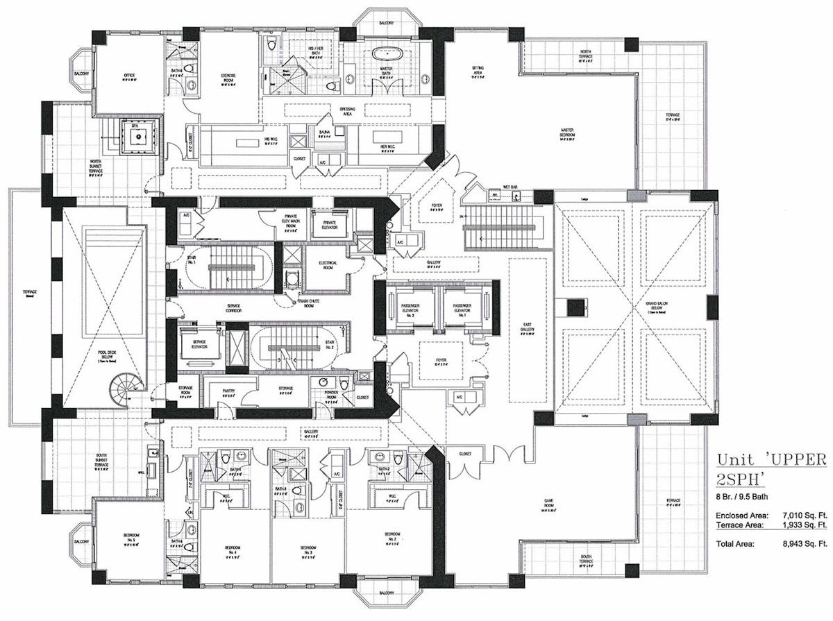 Chicago Condo Floor Plans: Here's The Floorplan To Florida's Future Priciest