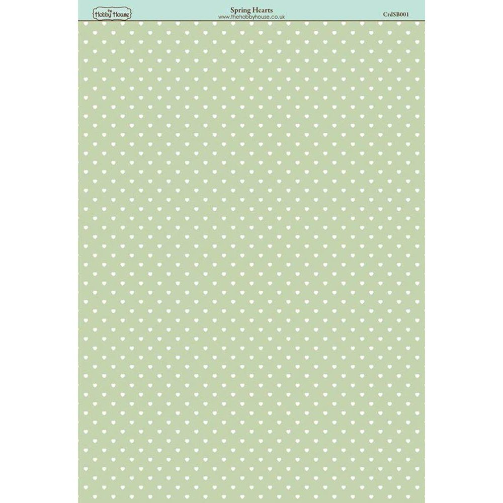 The Hobby House Spring Hearts Paper - The Hobby House from The Hobby House UK