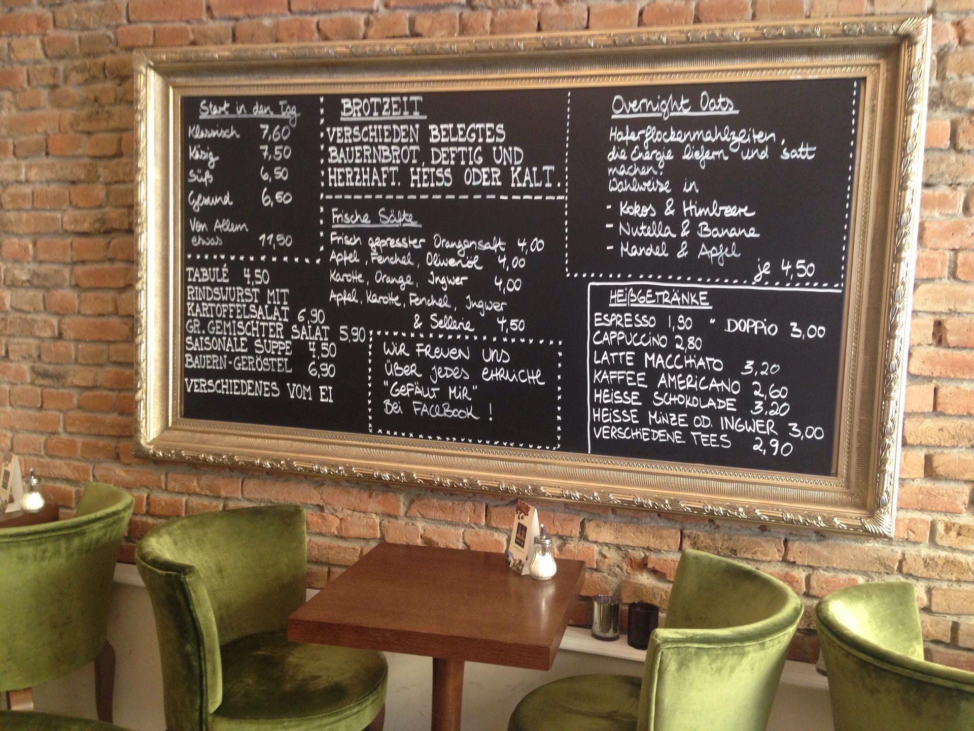 Cafe Milch Und Zucker Frankfurt
