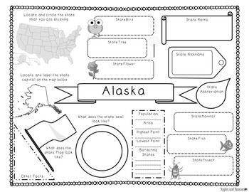 50 States Fact Sheets: Templates for all 50 States w