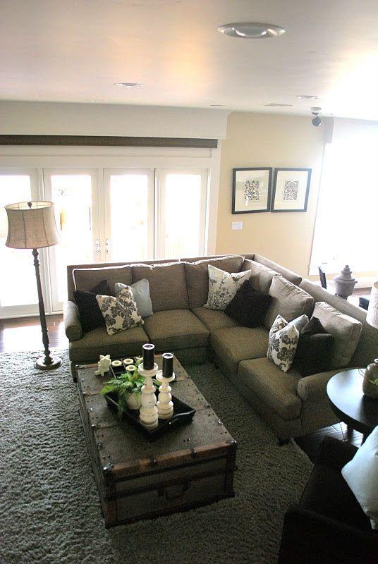 6th Street Design School Kirsten Krason Interiors Love The Table Arrangement Chaise Sofa Living Room Home Sofa Decor