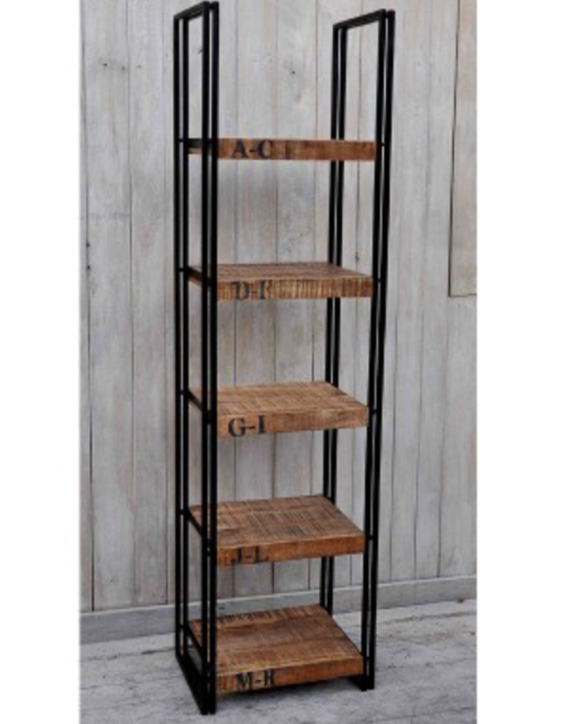 Industrial Style Bookcase – Allissias Attic & Vintage French Style