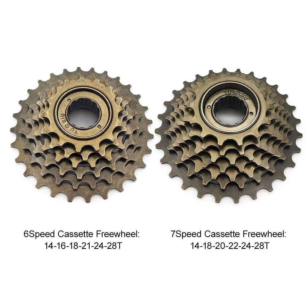 Bicycle Cycling Tool Parts Freewheel Single Speed Steel Spinning Bike Cassettes