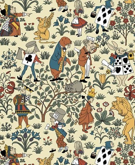 Arts And Crafts Movement Art Arts And Crafts Movement Alice In Wonderland