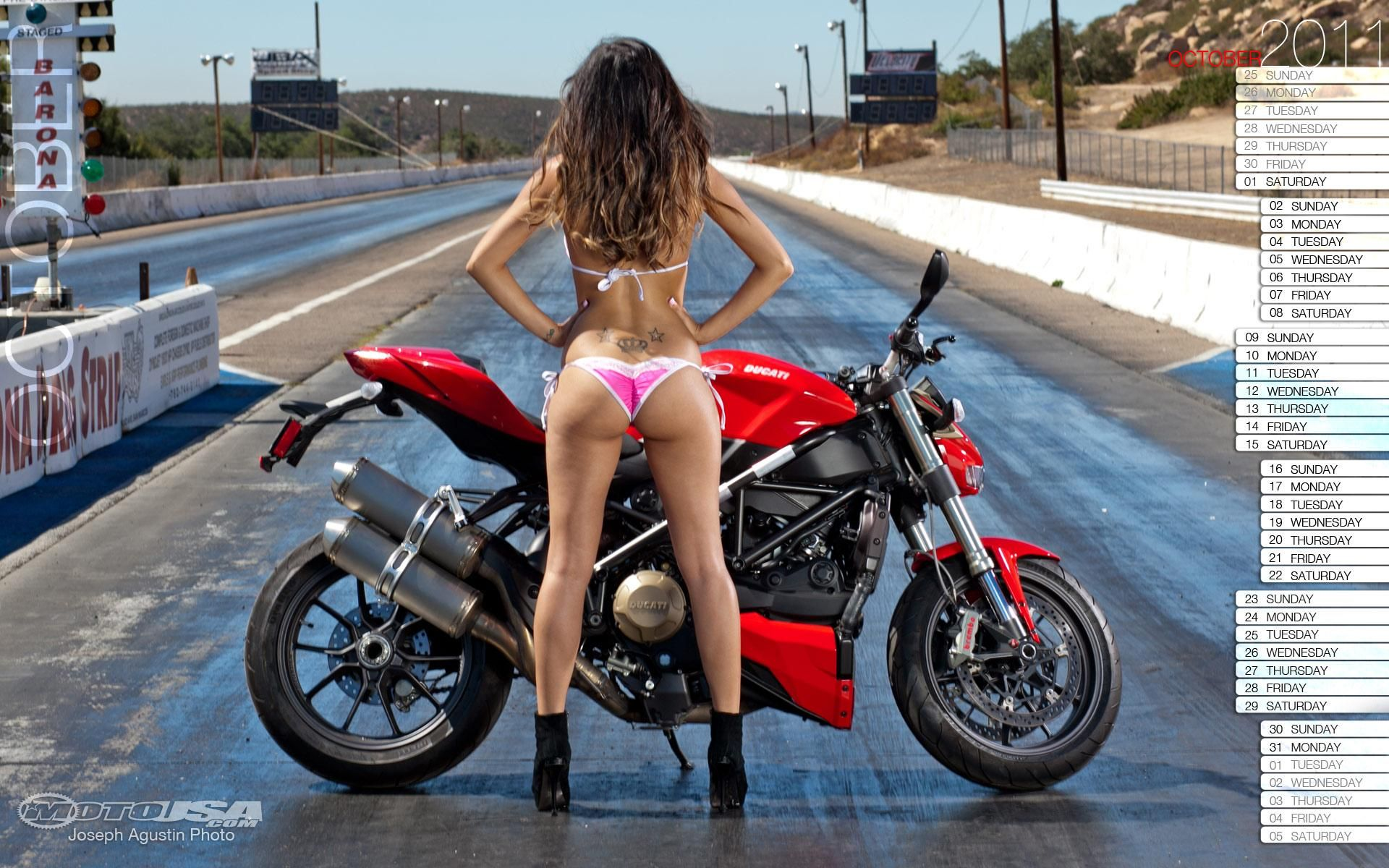 nude motorcycle calendar girls