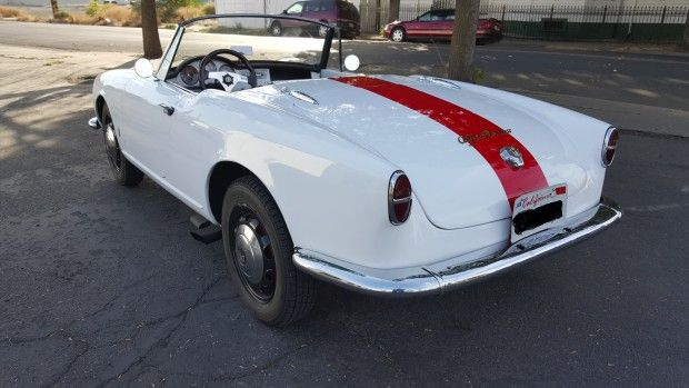 1959 Alfa Romeo Giulietta Spider