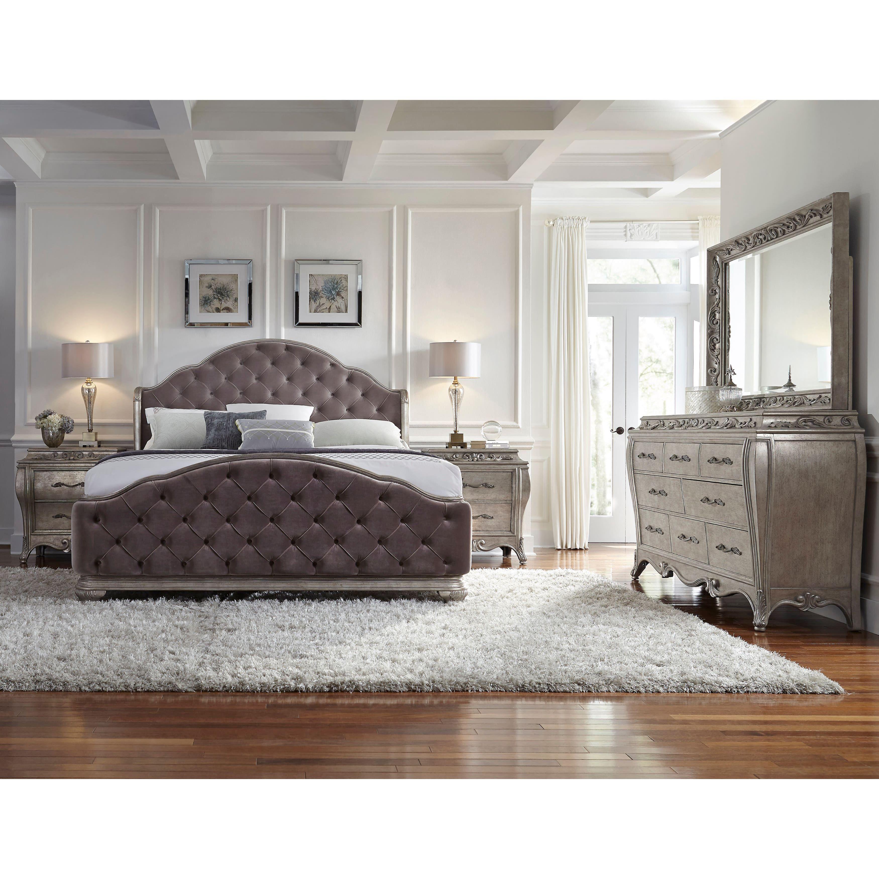 Anastasia King Size Bed Frame King Size Bedroom Sets Bedroom