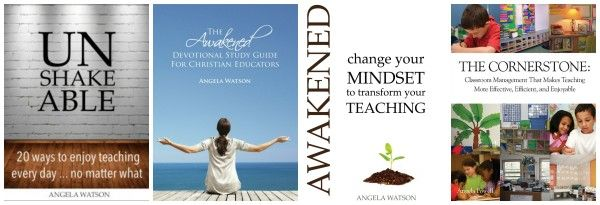 Angela Watson's books for teachers