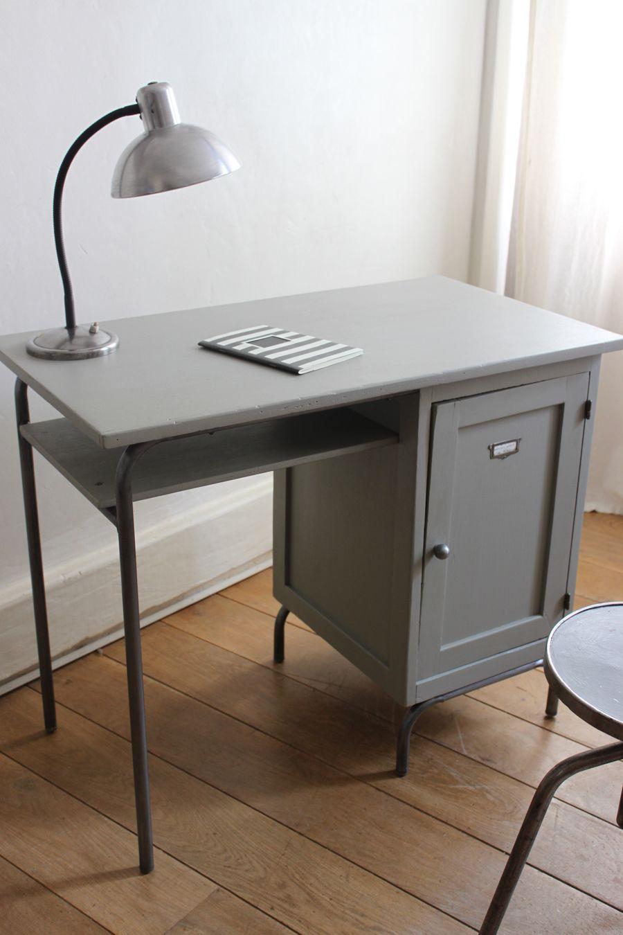 bureau de matresse dcole meuble vintage Relooking meuble