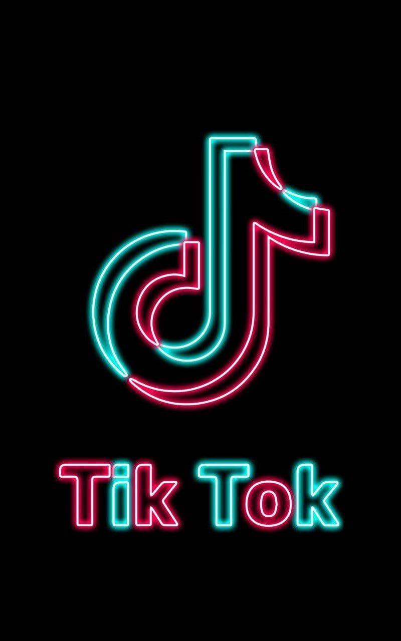 Tiktok Wallpapers In 2021 Wallpaper Iphone Neon Neon Wallpaper Neon Logo Coolest wallpaper images 2021