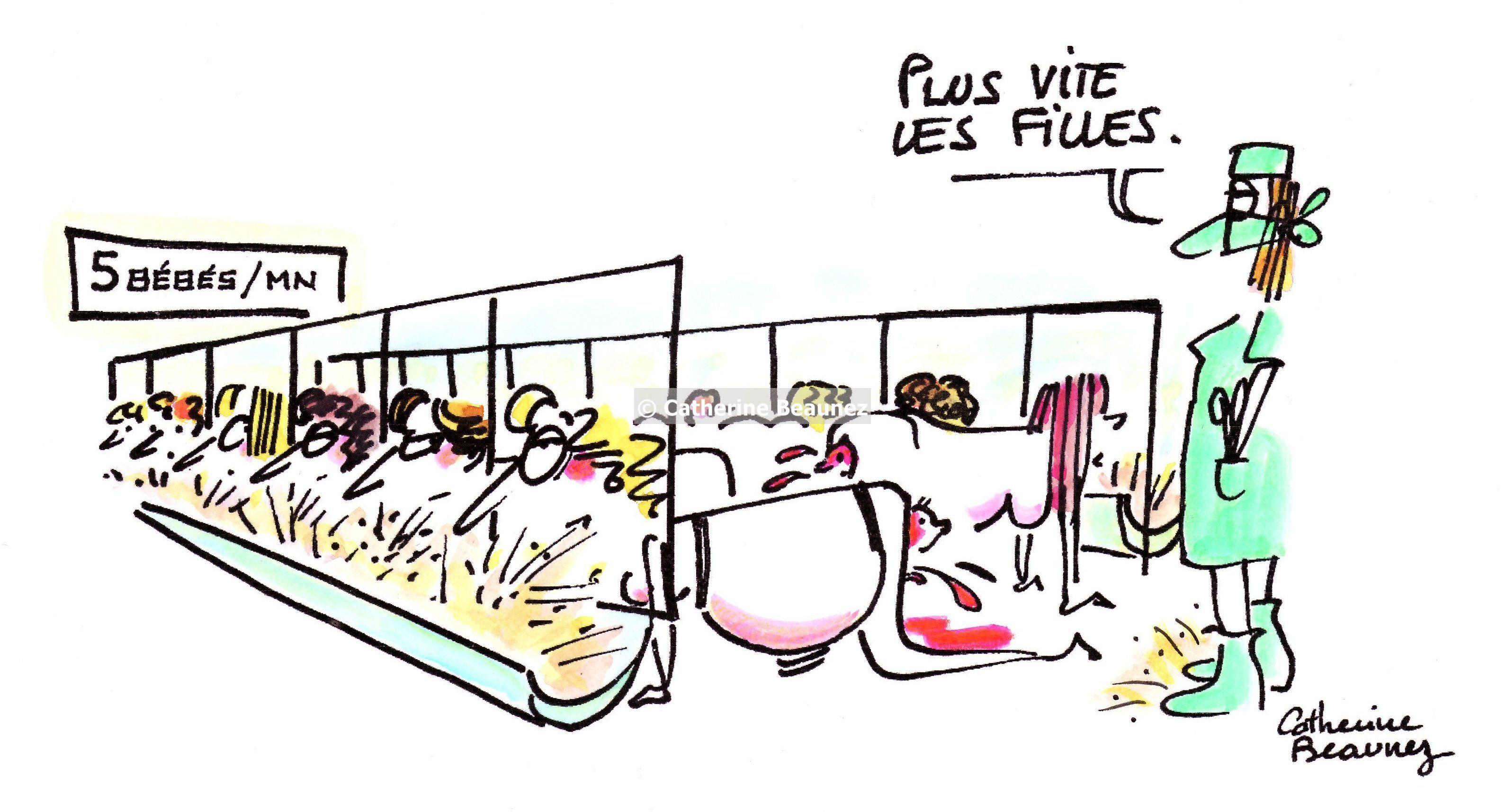 Dessins - Catherine Beaunez - dessins d'humour