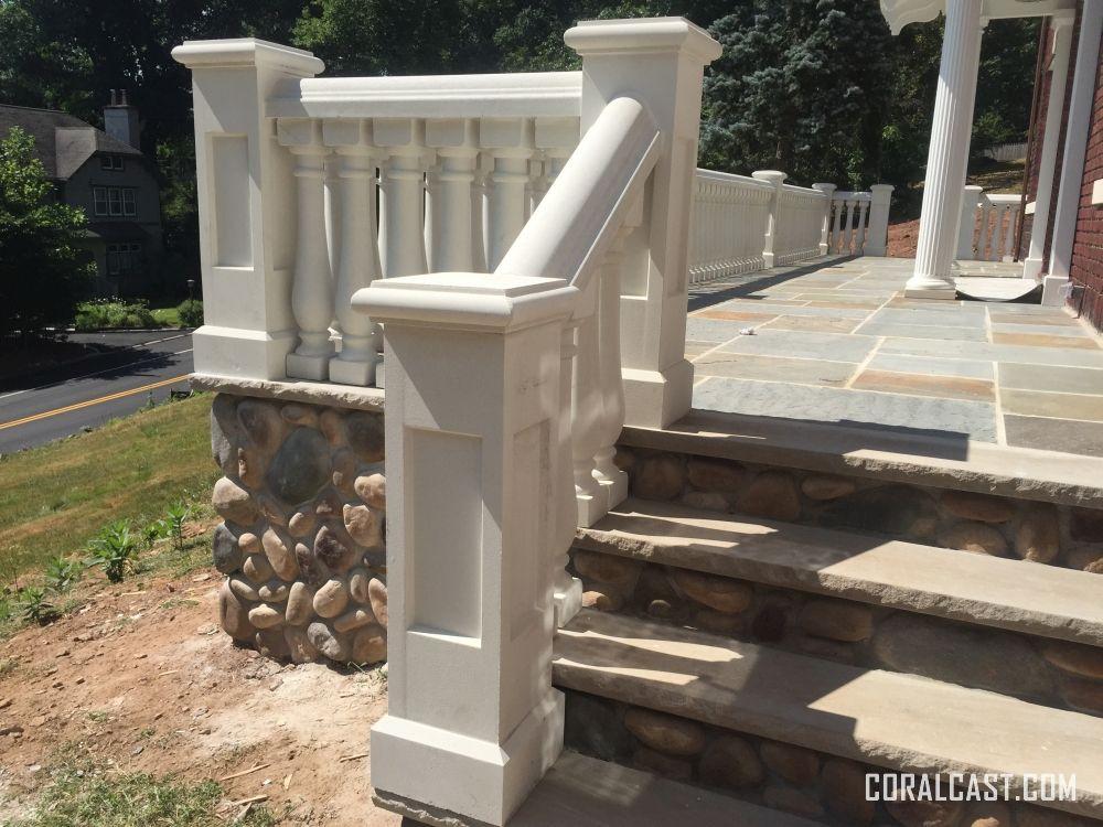 Best Precast Concrete Stair Railing Stone Architecture 400 x 300