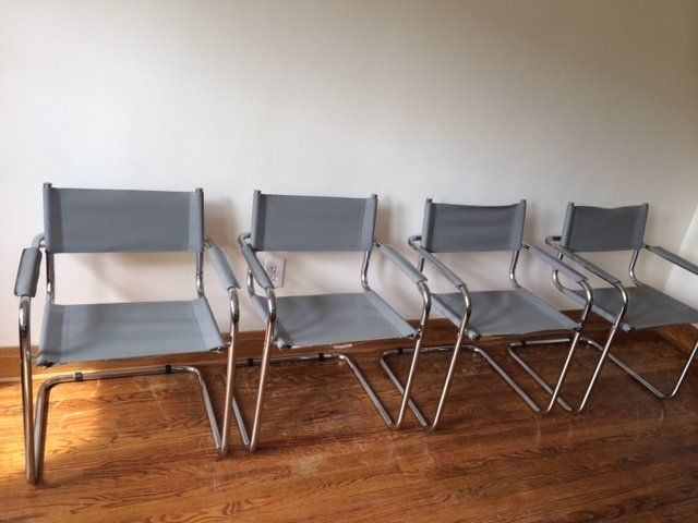 4 Mart Stam Cantilever Chairs 400 For The Set Mart Stam And Armchairs