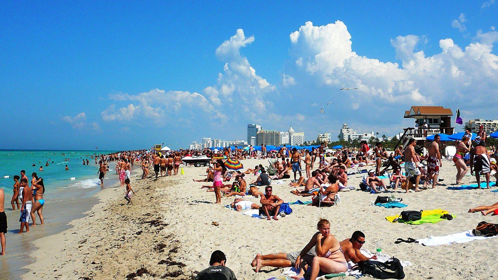 Miami Miami Beach Florida Usa Hd Wallpaper Miami Beach Florida Usa