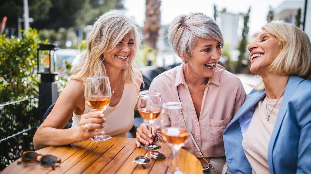 Girls' Weekends and Slumber Parties Over 60? You Bet
