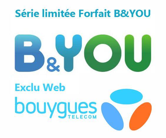 Super Bon Plan Sur Ce Forfait B You 20go De Bouygues Telecom Qui