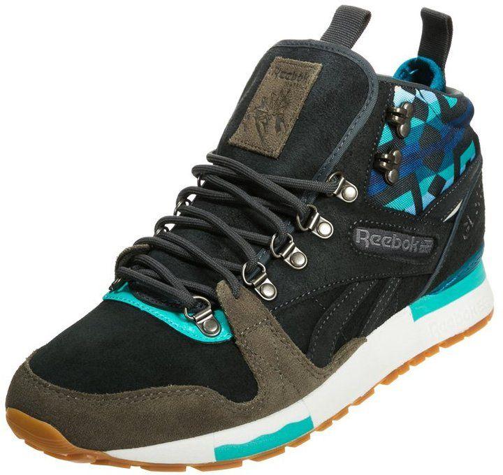 368ce05bab7b Reebok Classic GL 6000 MID Hightop trainers gravel/modern olive/english  emerald on shopstyle.co.uk