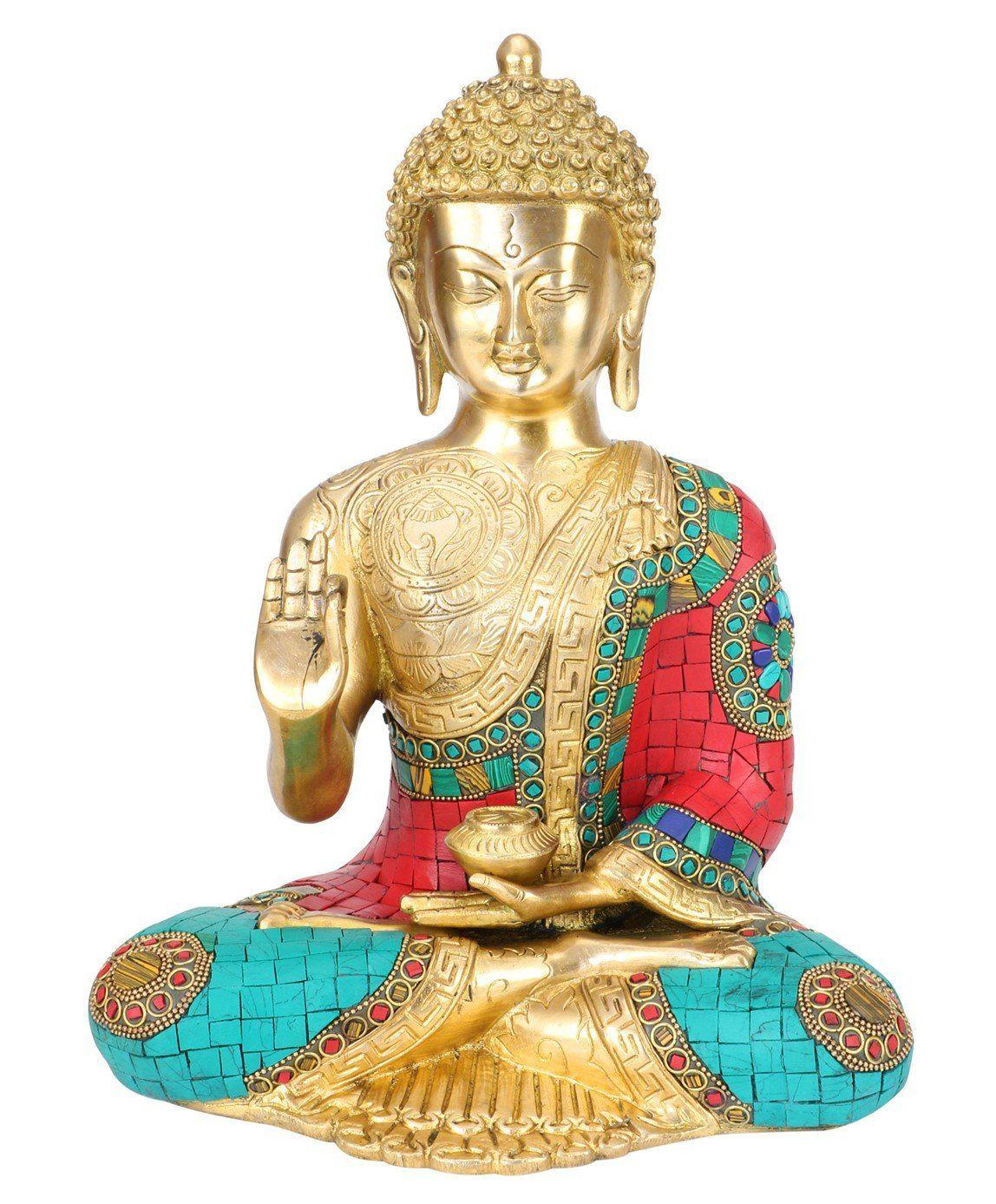 Bhagwan Buddha Statue Blessing Face Murti for Home Decor ...