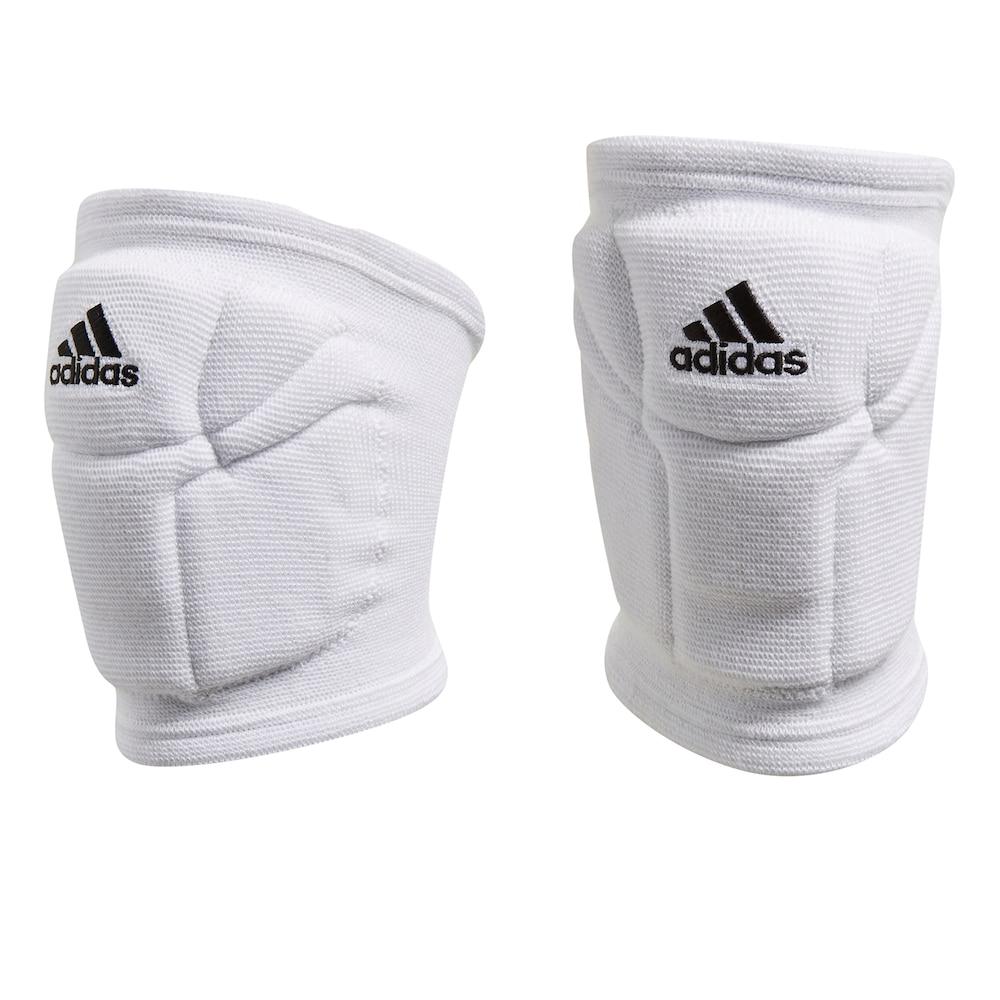 Women S Adidas Elite Volleyball Knee Pads White Medium Volleyball Knee Pads Adidas Women Knee Pads