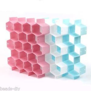 DIY Drawer Divider for Socks Underwear Organizer Storage Boxes Tidy Plate | eBay