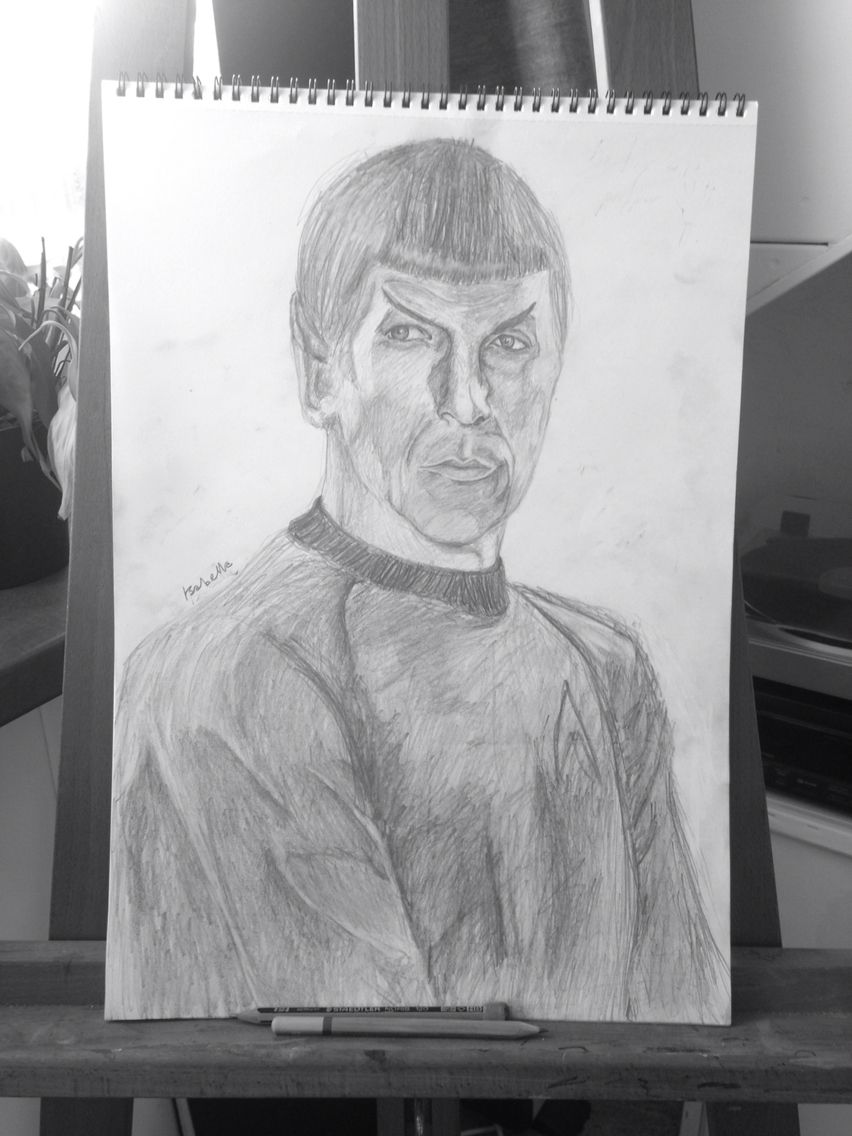 Spock by Isabella May