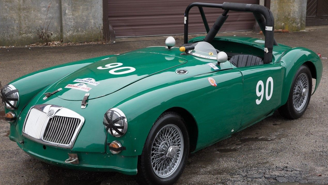 eBay: 1957 MGA Vintage Race Car #classicmg #mg #mgoc | Other Cars