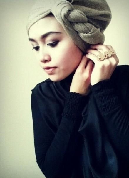 Side Braid Turban Hijab Hijabi Style Fashion Turban Style Hijab Turban Style Turban Hijab