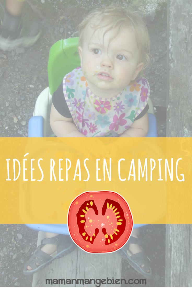 Idées de repas en camping avec les enfants (avec images) | Repas camping