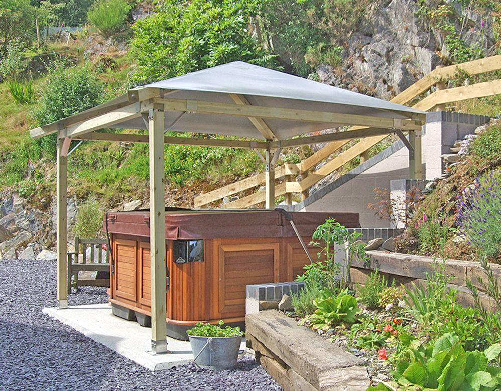 Hot Tub Gazebo Canopy Search Pictures Photos