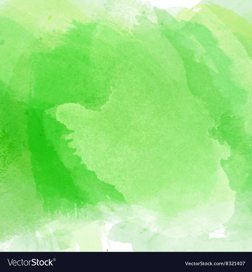 Green Watercolor Background 1603 Royalty Free Vector Image Spon