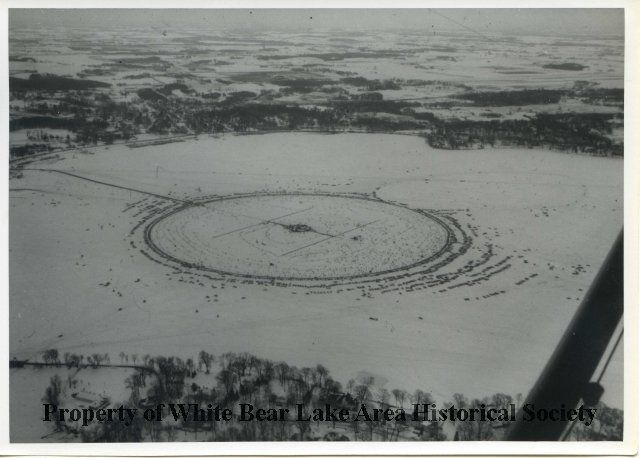Winter carnival ice fishing contest on white bear lake mn 1966 winter carnival ice fishing contest on white bear lake mn 1966 mightylinksfo Images