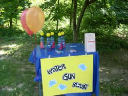 squirt gun games With a few simple items you probably already have around.